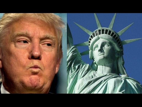 Someone Just Hung A Banner On The Statue Of Liberty That Will Infuriate Trump