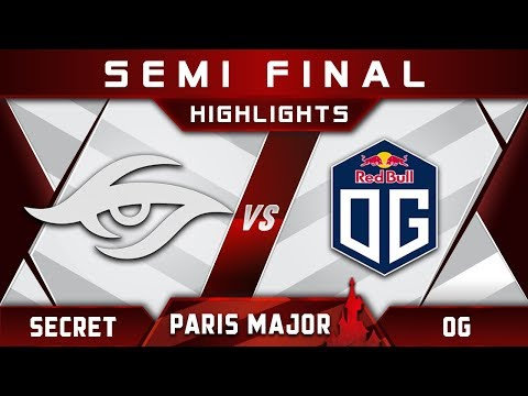 Secret vs OG [ACTION] TOP 3 MDL Disneyland Paris Major 2019 Highlights Dota 2