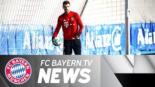 FC Bayern and Sven Ulreich ready for Stuttgart