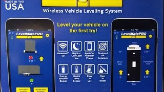 LevelMatePRO to level your RV or Trailer wirelessly - Setup and Installation level mate pro