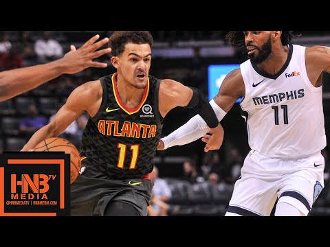Atlanta Hawks vs Memphis Grizzlies Full Game Highlights | 10.19.2018, NBA Season