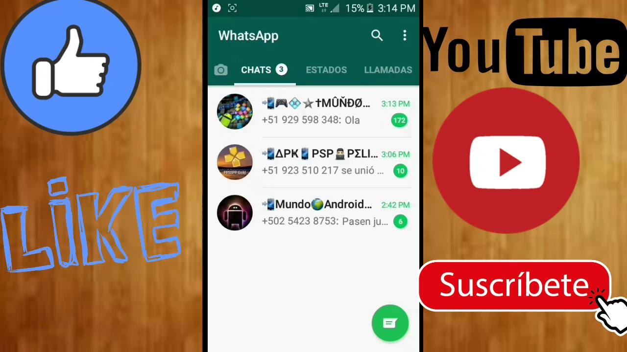 Top 3 Grupos De Whatsapp De Apk Juegos De Ppsspp Etc 2018 Youtube
