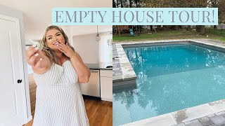 I BOUGHT A HOUSE! EMPTY HOUSE TOUR!