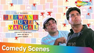 Akshay Kumar Best Comedy Scene - Deewane Hue Pagal - Paresh Rawal - Superhit Comedy Movie.