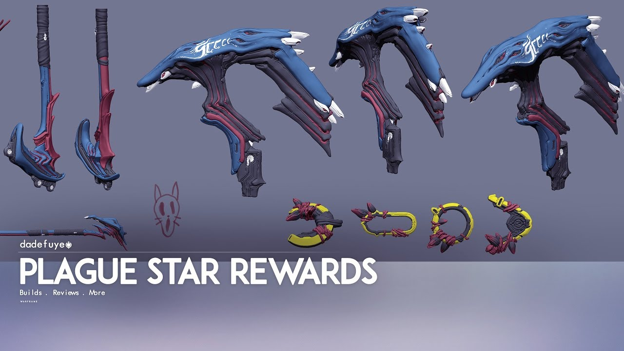 WF: REWARDS FROM OPERATION PLAGUE STAR | INFESTED ZAW ...