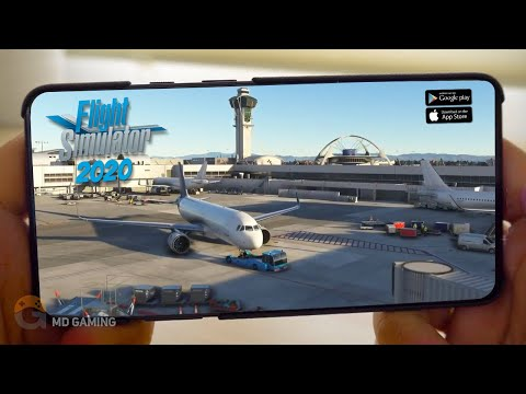 Top 5 Realistic Flight Simulator Games For Aandroid&IOS 2020 | Free Offline Simulator【MD Gaming】