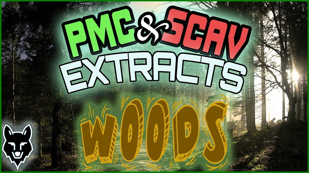 Woods Every Pmc Scav Extract Escape From Tarkov Youtube