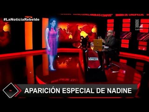 ¿Qué le respondió Nadine Heredia a Beto Ortiz en La Noticia Rebelde?
