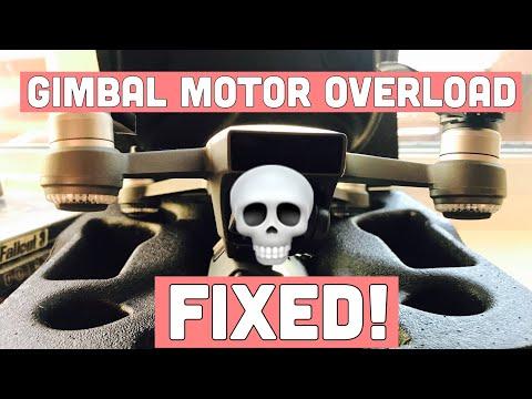 """""""GIMBAL MOTOR OVERLOAD"""" FIX    DJI SPARK"""