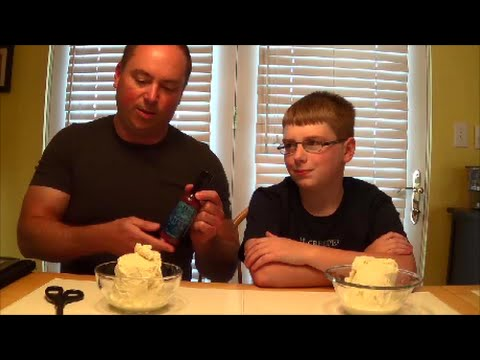 12-yr-old eats Blueberry HELL : Hot Sauce Review, Crude Brothers