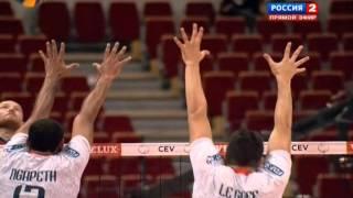 Волейбол  ЧЕ  Мужчины  Россия Франция  1 4 финала  25 09 2013