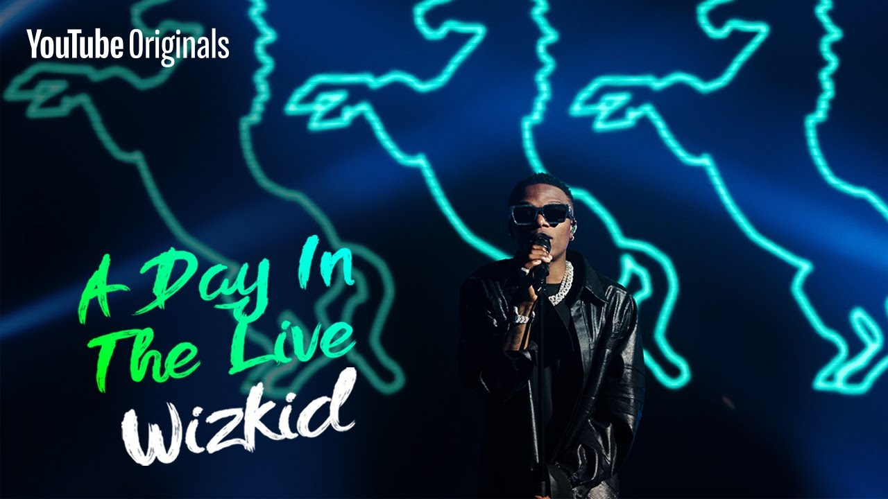 Wizkid - No Stress (Live)   A Day in the Live