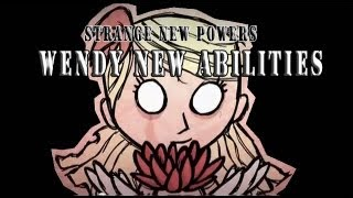 Don't Starve - Testing Wendy New Abilities (from Strange New Powers update)