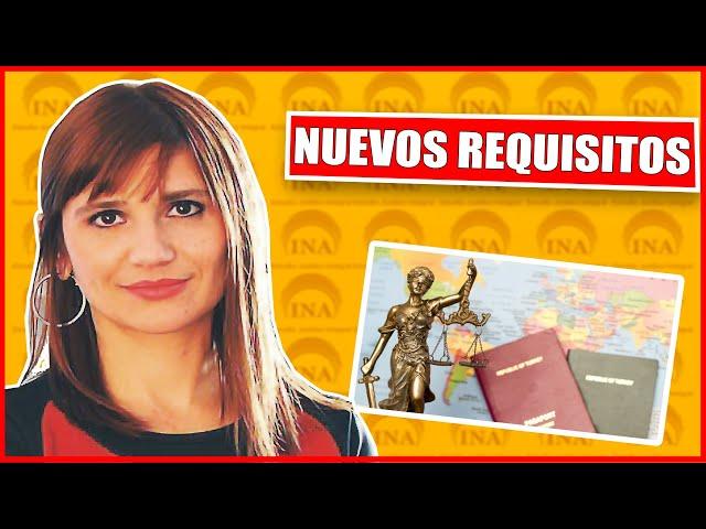 EXTRANJEROS: NUEVOS #REQUISITOS ! Dra @deborahhuczek_abogadapenalista El Trece Tv.