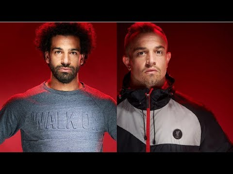Gallery: Reds stars model new LFC fashion collection