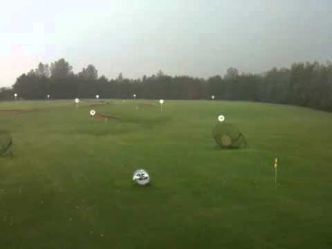 Ballyearl driving range downpour!