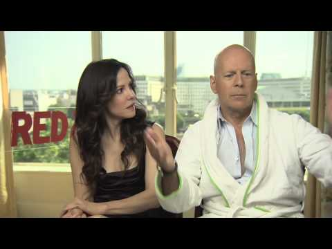 Bruce Willis and Mary-Louise Parker Interview -- RED 2 | Empire Magazine