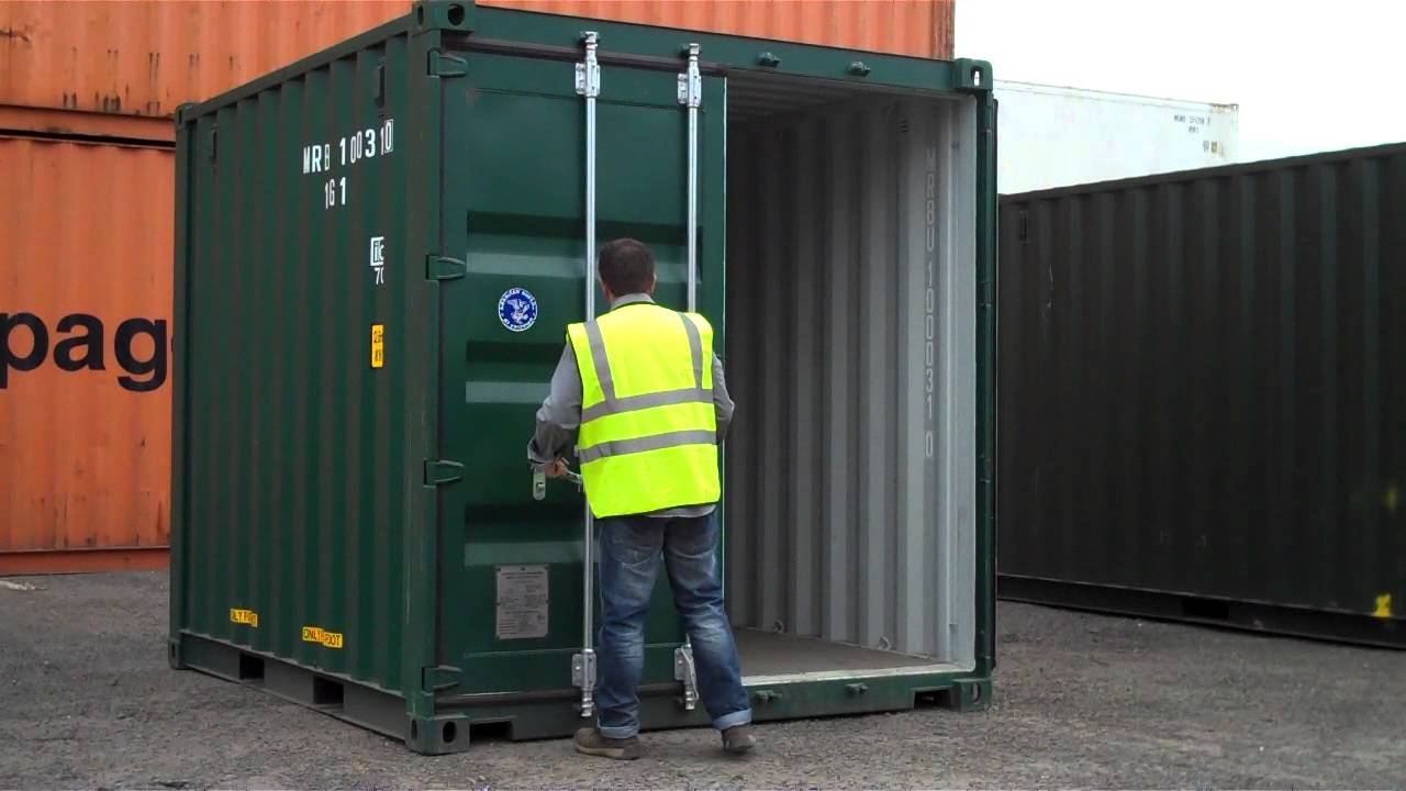 10ft Shipping Container For Sale Www Bullmanscontainers Co Uk Youtube - Containers For Storage