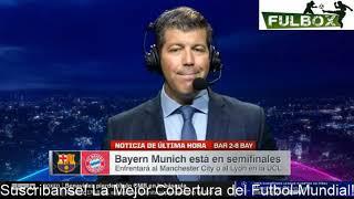 ¡HUMILLACIÓN! Barcelona es APLASTADO 8-2 por Bayern Múnich en Champions League Palabras Setién