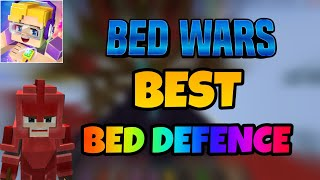 Blockman Go: Bed Wars: HOW to Make The BEST Bed Defence in Blockman Go Bedwars (1.10.43)