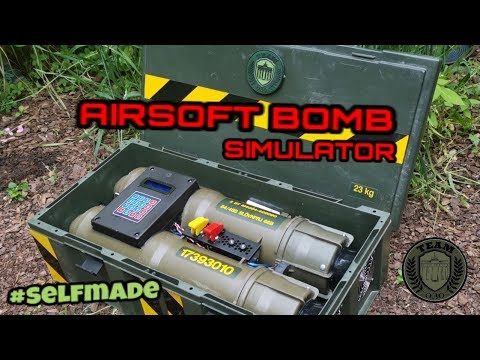 AIRSOFT BOMBE DIY Review ARDUINO By TEAM-030-AIRSOFT #selfmade