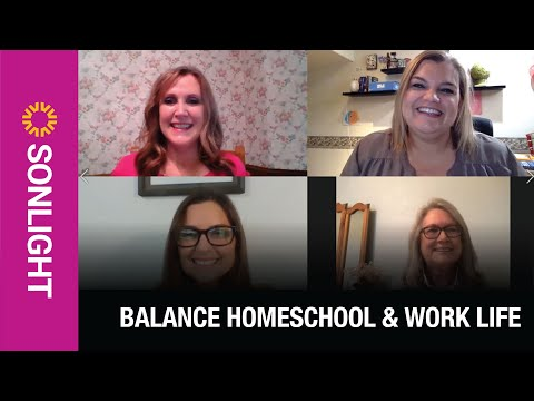 Sonlight Balance Homeschool And Work Life With Rhonda, Sandy And Sheila