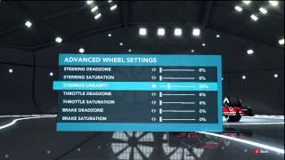 F1 2012 Racing Wheel Settings Fix