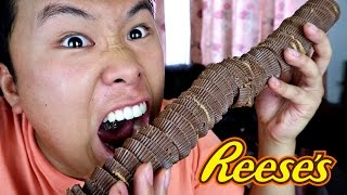 100 LAYERS OF REESES!!!