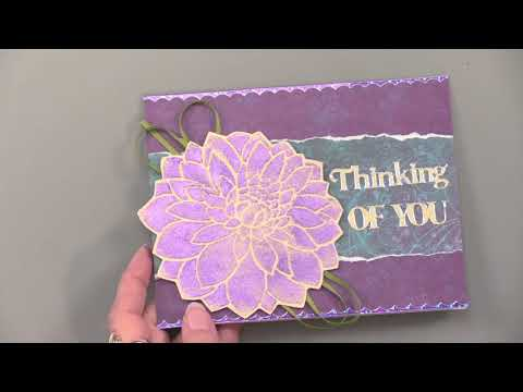 Cosmic Shimmer Glitter Kiss - Paper Wishes Weekly Webisodes