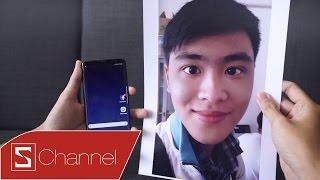 Schannel - Thử đánh lừa cảm biến mống mắt trên Galaxy S8 bằng ảnh selfie & cái kết bất ngờ...