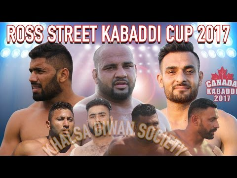 2017 Canada Kabaddi - Ross Street Kabaddi Cup 2017