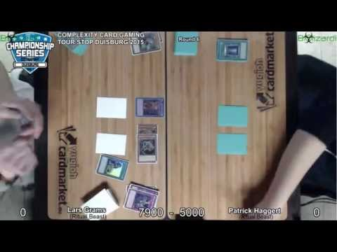 YGO: CCG Tour Stop - Duisburg 2015: Round 6: Ritual Beast VS