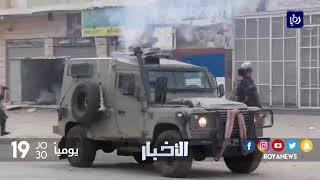 جيش الاحتلال يستخدم القوة المفرطة لقمع الفلسطينيين - (19-1-2018)