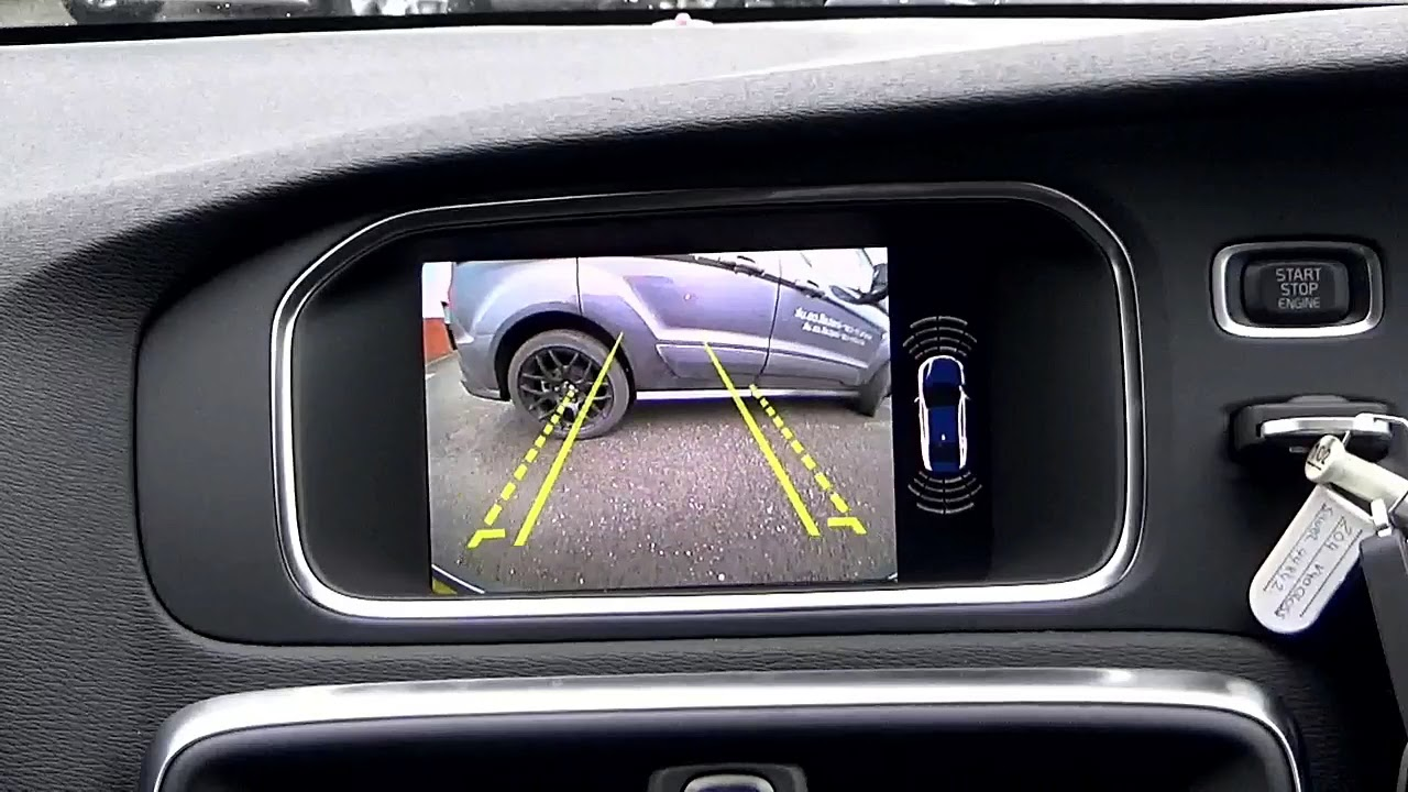 Volvo - Reverse Reversing Camera Kit ( FRONT & REAR ) V40 ...