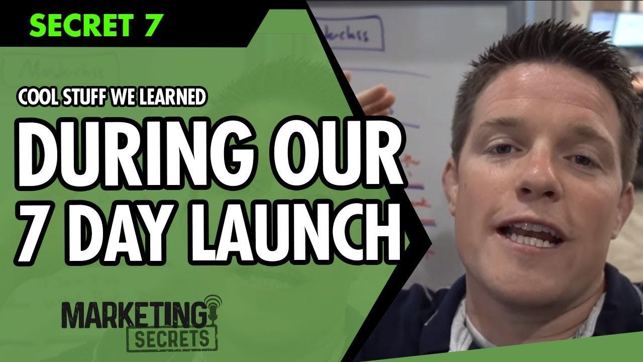 Marketing Secrets - Secret #7: Cool Stuff We Learned During Our