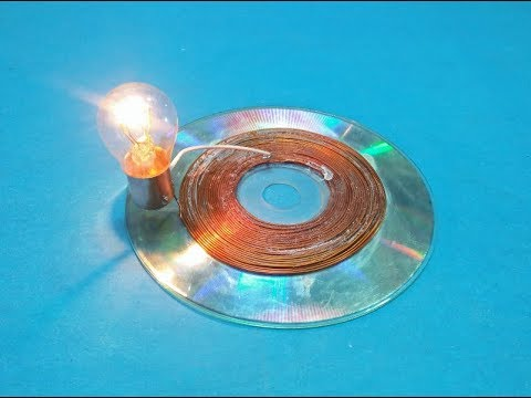 Free Energy Wireless Electricity Magnet With Copper Wire Make Solar Panel Cd Flat New Technology
