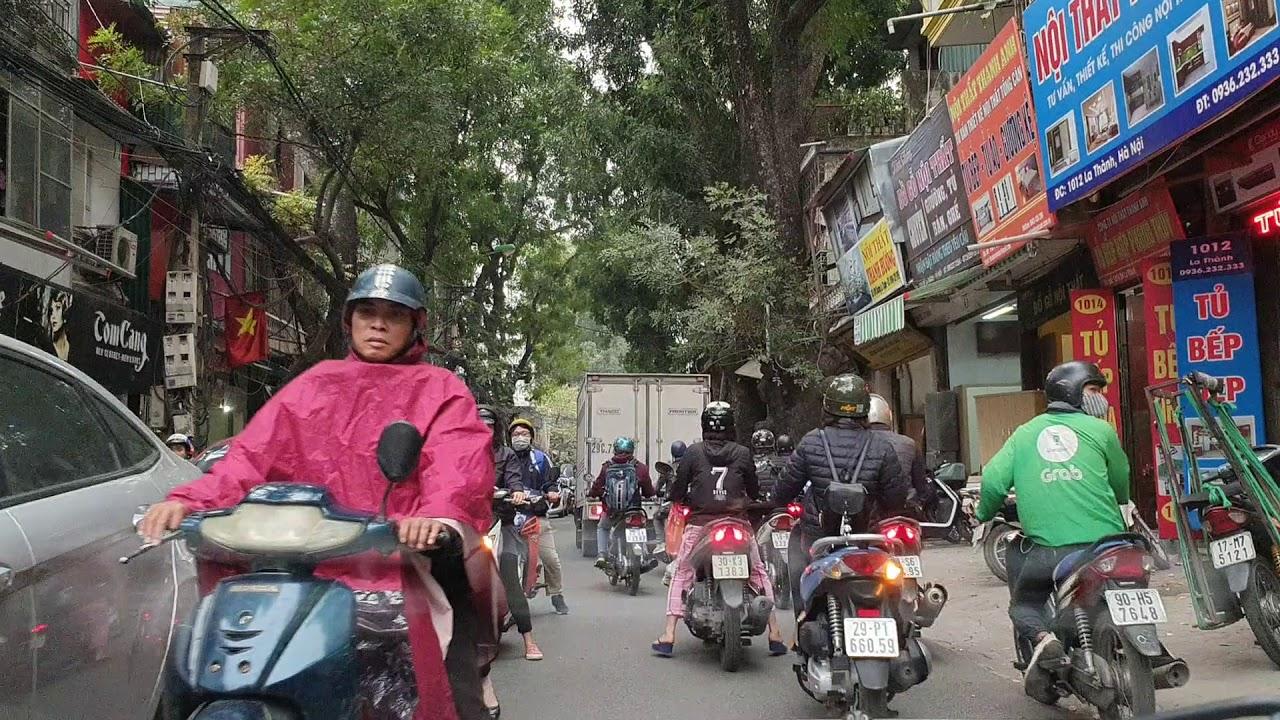 Toàn Cảnh Phố Đê La Thành Chuyên Kinh doanh Đồ Gỗ  Sắt Thép | Hanoi city | Vietnam Discovery Travel