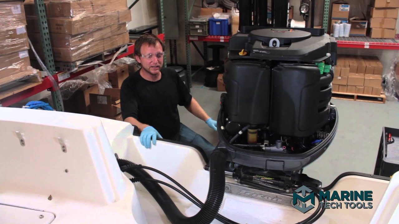 Diagnose SeaStar Marine Steering System Seal Failure Part 1/3