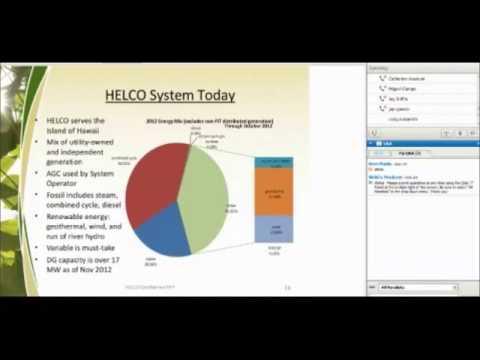 HELCO 50 MW Geothermal RFP webinar 12-5-12