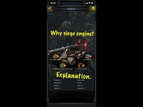 Clash Of Kings - T11 Siege Engines Are The New Griffins?