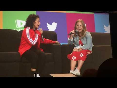 FULL Liza Koshy VidCon 2k17 Interview