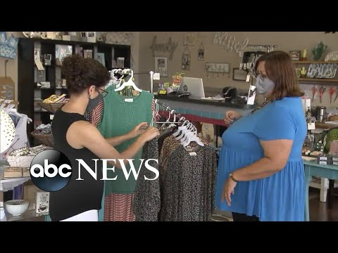 Small businesses in Texas face re-closure as New York shops navigate reopening | ABC News