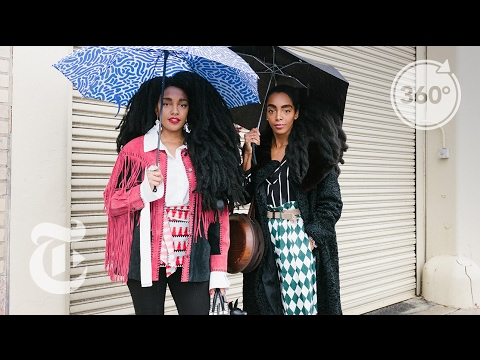 Street Style With the Quann Twins | The Daily 360 | The New York Times