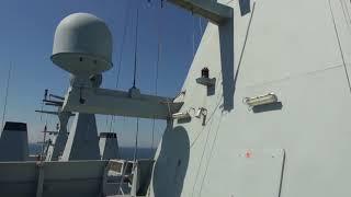 F-16 fly angriber støtteskibet Absalon