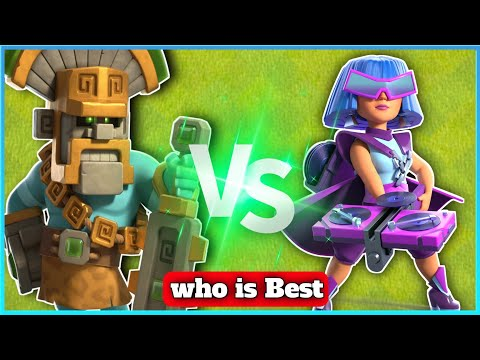 Jungle King vs Party Queen  Clash of clans
