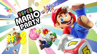 Super Mario Party | Game Play - Part 8 | Single Player | Team Mini Games | Nintendo Switch