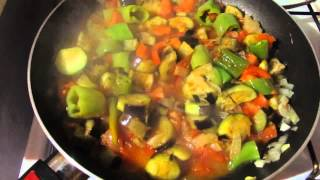 Баклажаны с курицей! Как приготовить баклажаны по-турецки.Patlıcan Yemeği