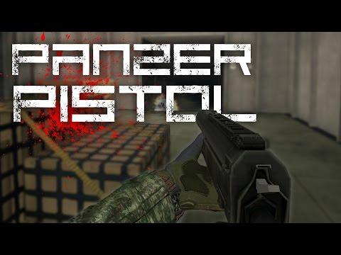 Red Crucible Firestorm : Panzer Pistol