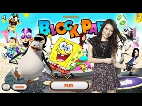 Spongebob Block Party - Nickelodeon Games