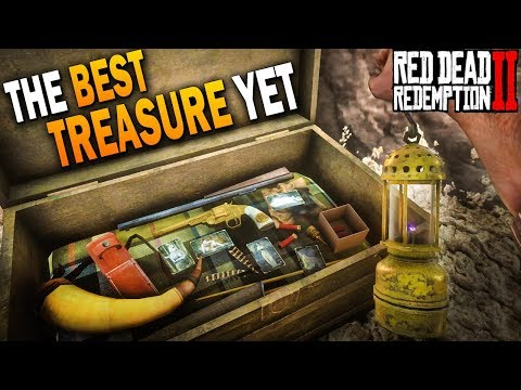 Secret Ottis Millers Revolver & More! The Best Treasure Yet! Red Dead Redemption 2 Rare Weapons